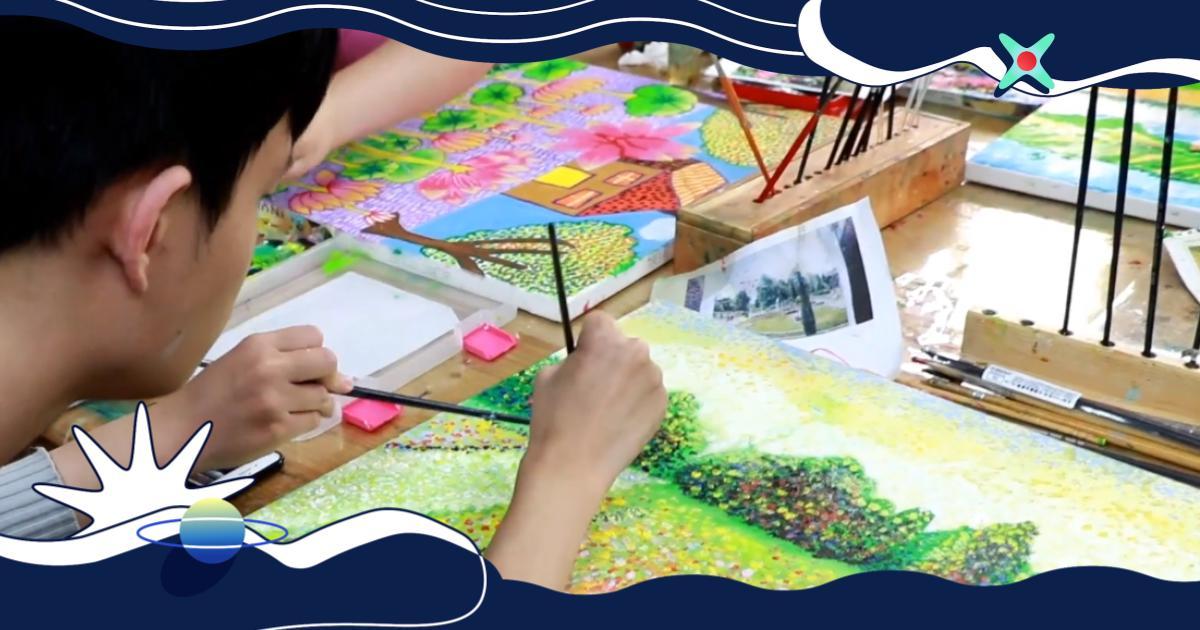 教育|特殊孩子的另一扇窗,用顏料塗出社會鏈結!