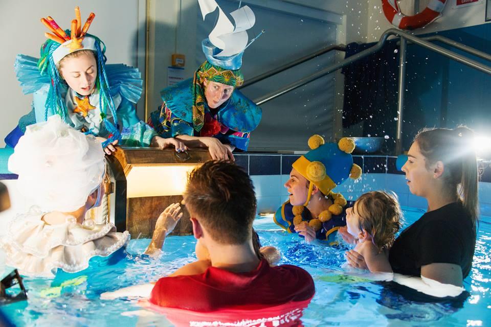 自閉症者的一對一互動劇團表演