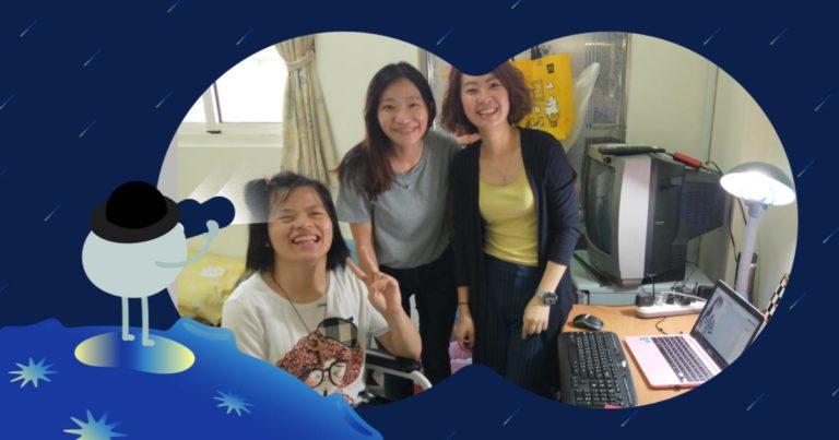 分享身障就業團隊合作的故事